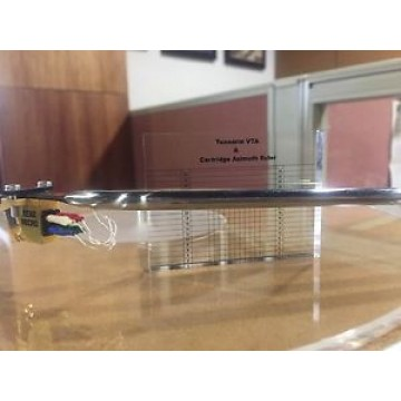 Tonearm VTA & Cartridge Azimuth Ruler