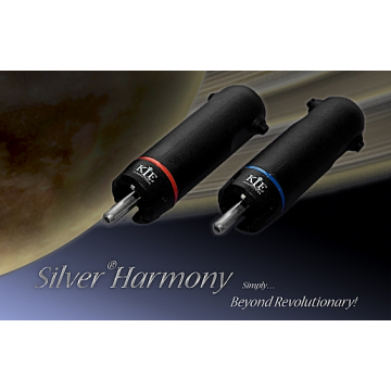 KLEI Silver®Harmony Phono/RCA  per 4 pack